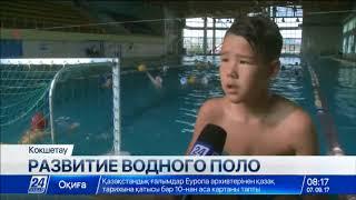 Единственная в регионе команда по водному поло создана в Акмолинской области