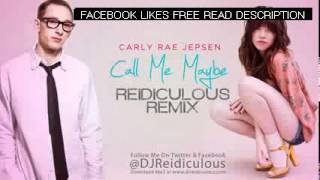 Carly Rae Jepsen Call Me Maybe Remix [Reidiculous]