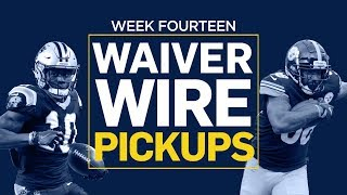 Week 14 Waiver Wire Pickups (Fantasy Football)
