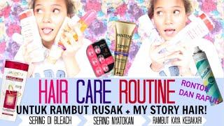 Hair Care Routine Buat Rambut Rusak/Hair Care For Damage Hair + GIVEAWAY(Bahasa)│Dinda Shafay