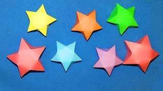 How to Make Paper Stars ( EASY ) Thumbnail