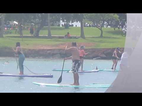 Hawaii trip I  Ala Moana Beach Park I Honolulu I 20Feb17