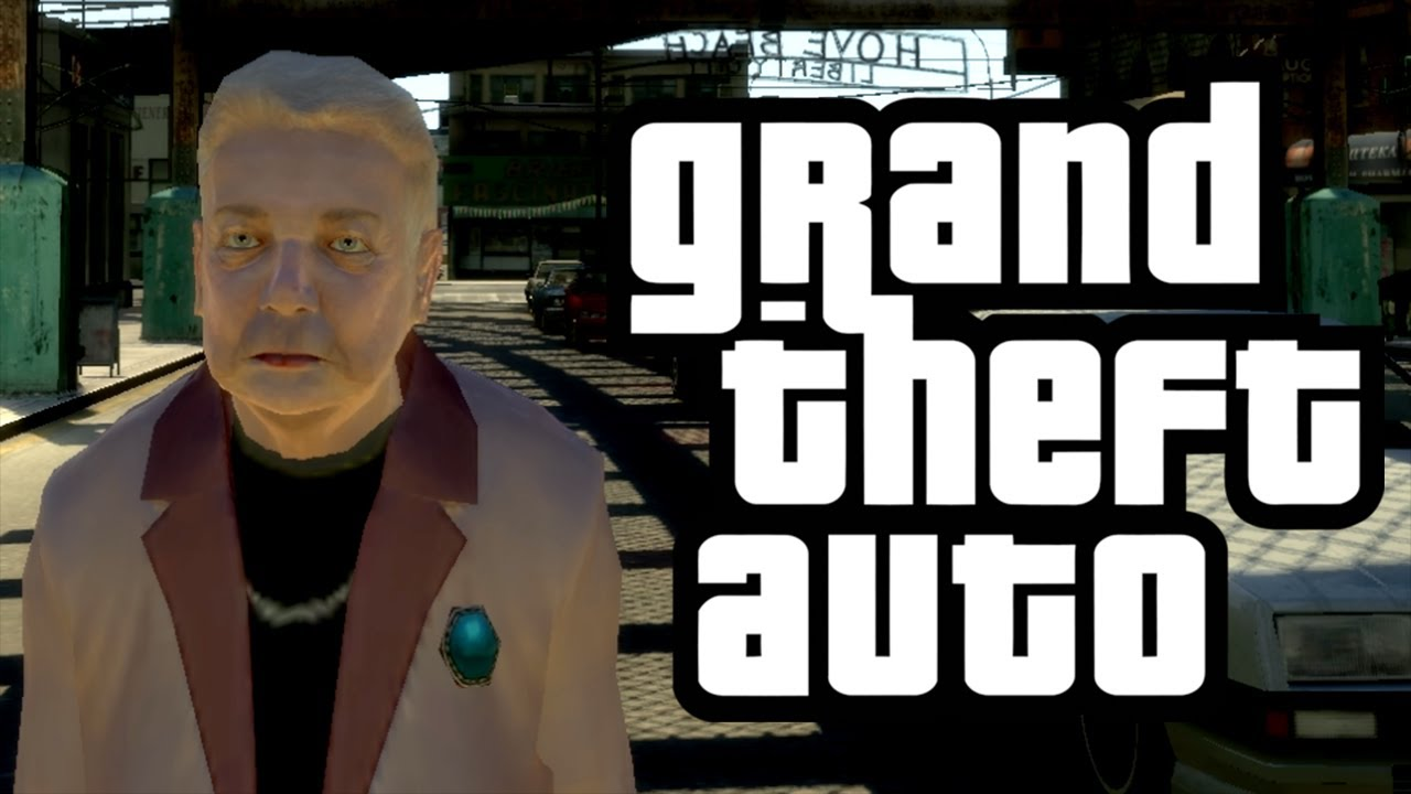 GTA 4 - Granny's Adventure! - (Granny w/ Wheelchair Mod Funny Moments)