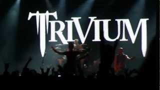 Trivium live Buenos Aires Argentina 9/11/2012 - Intro/In Waves/Pull Harder...