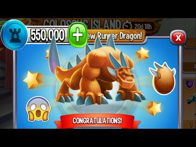 Dragon City - Knife Dragon [Chocolate Tower Island | Completed 2018]