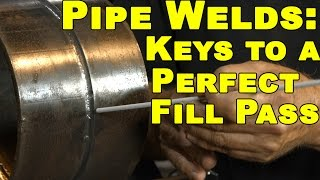 🔥 Stick Welding Pipe: Fill Pass Techniques | MIG Monday