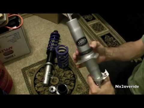 Assembling Coilover Sleeves on Lowtek struts