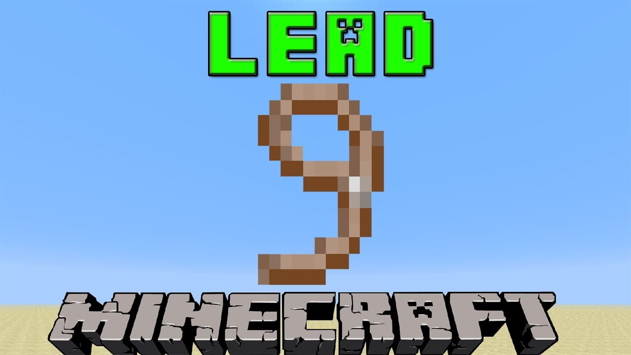 How To Make A Lead in Minecraft  23.23 Update