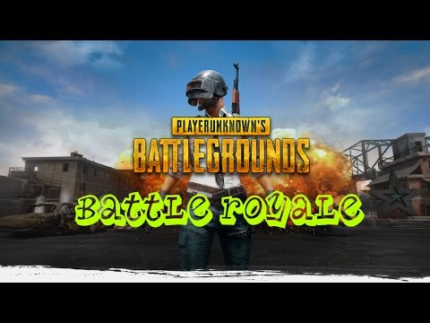 PlayerUnknown's Battlegrounds - a battle royale game  