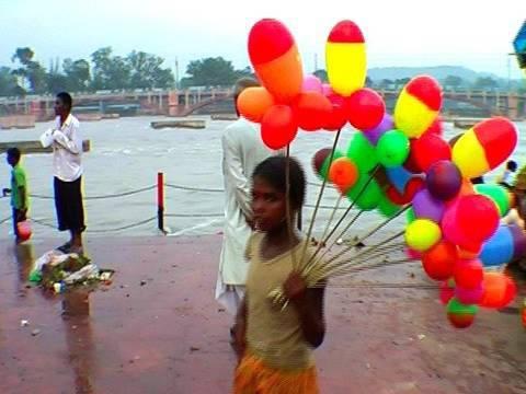 River Ganga before Aarti, Haridwar