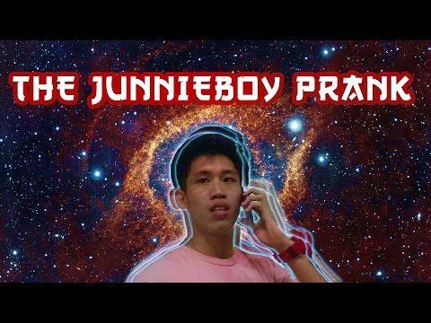 THE JUNNIEBOY PRANK