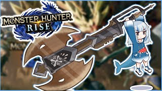 [Monster Hunter Rise] charge blade lol