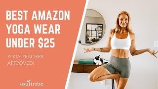 Best Yoga Wear Under $25 from Amazon (Aug 2020)