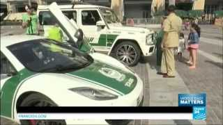 Fast and Luxurious: fighting crime with sports cars in Dubai