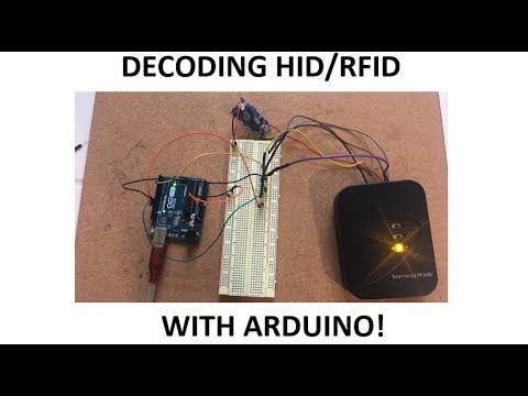 How To Decode HID/RFID Cards with Arduino (2019)