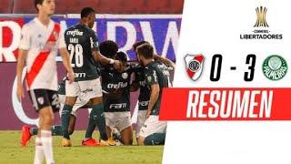 River Plate - Palmeiras [0-3] | RESUMEN | SEMIFINALES (Ida) | CONMEBOL Libertadores 2020