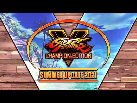 Street Fighter V - Summer Update 2021