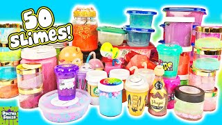 Mixing ALL My Slimes! Massive 50 Slime Smoothie! Doctor Squish
