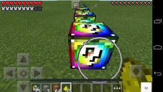 Lucky Block Mod! | Minecraft Pe 0.14.0 | Mods Para Minecraft Poket Edition