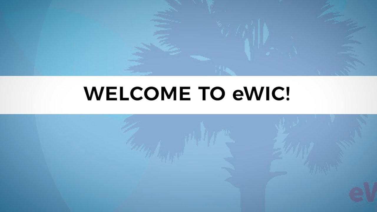 South Carolina WIC Transitions to eWIC | SCDHEC