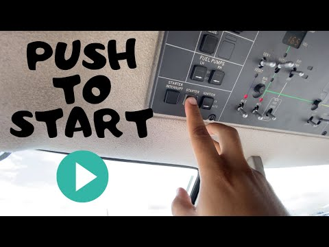 How To START A PLANE? Pilatus PC-12.