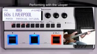 GT-1B Quick Start chapter7 : Looper