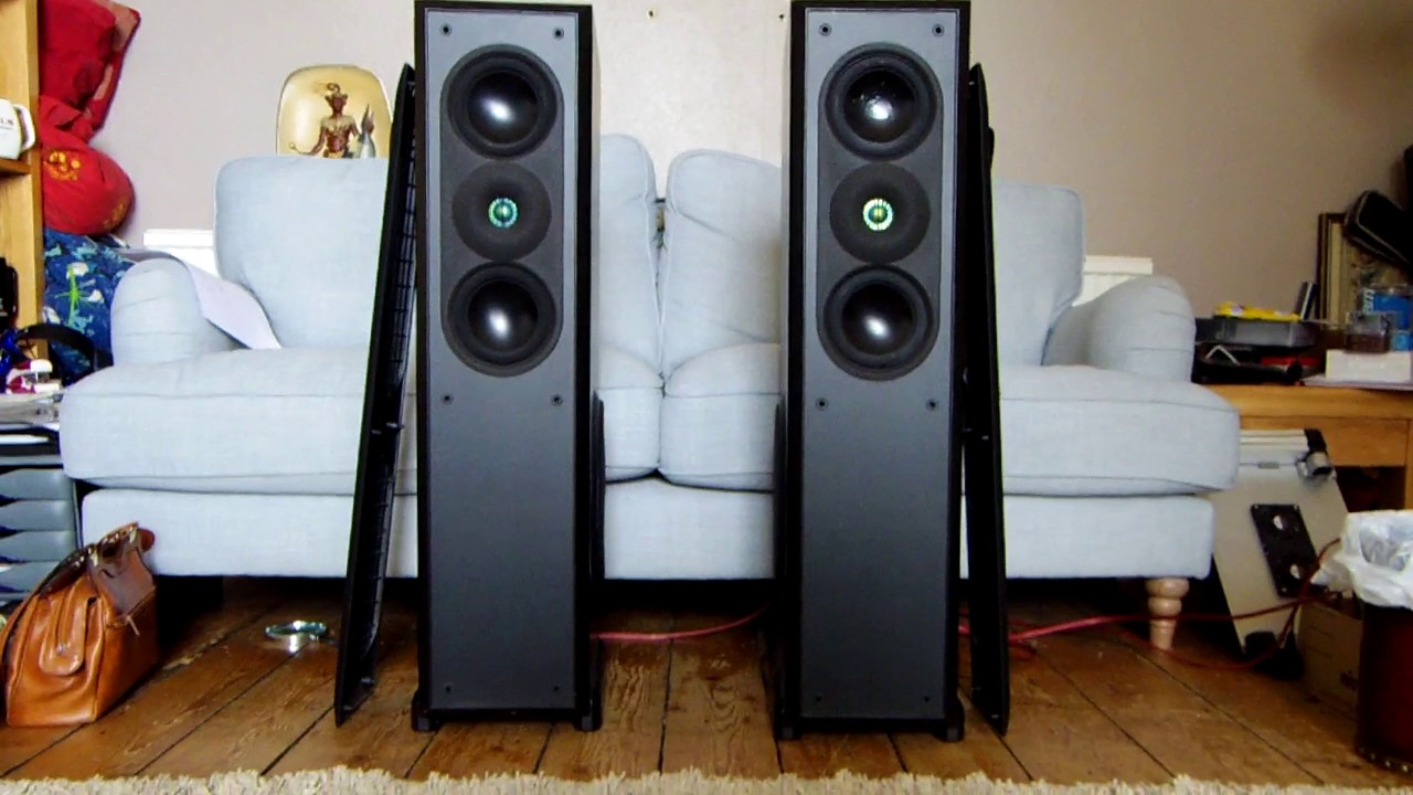 Ar Acoustic Research Ar9 Speakers Floorstanding Hi Fi Separate Loudspeakers Youtube