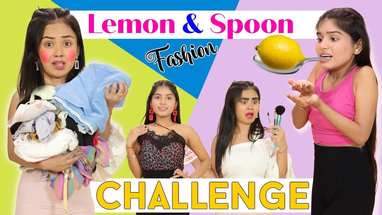 Lemon Spoon Fashion Challenge & Hacks | DIY Queen