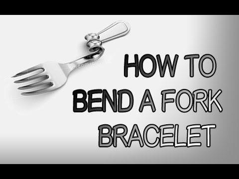 HOW TO BEND A FORK BRACELET