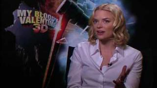 Jaime King interview for My Bloody Valentine 3D