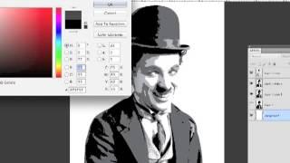 Processo Completo de Criação de Stencil Multi-Camada no Adobe Photoshop