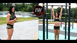 Уличная тренировка от IFBB PRO Bikini, Лианы Мороз.