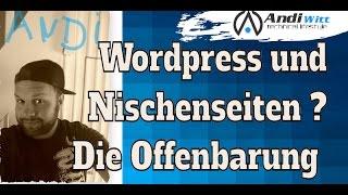 Nischenseite mit Wordpress erstellen - Logik hinter Nischen