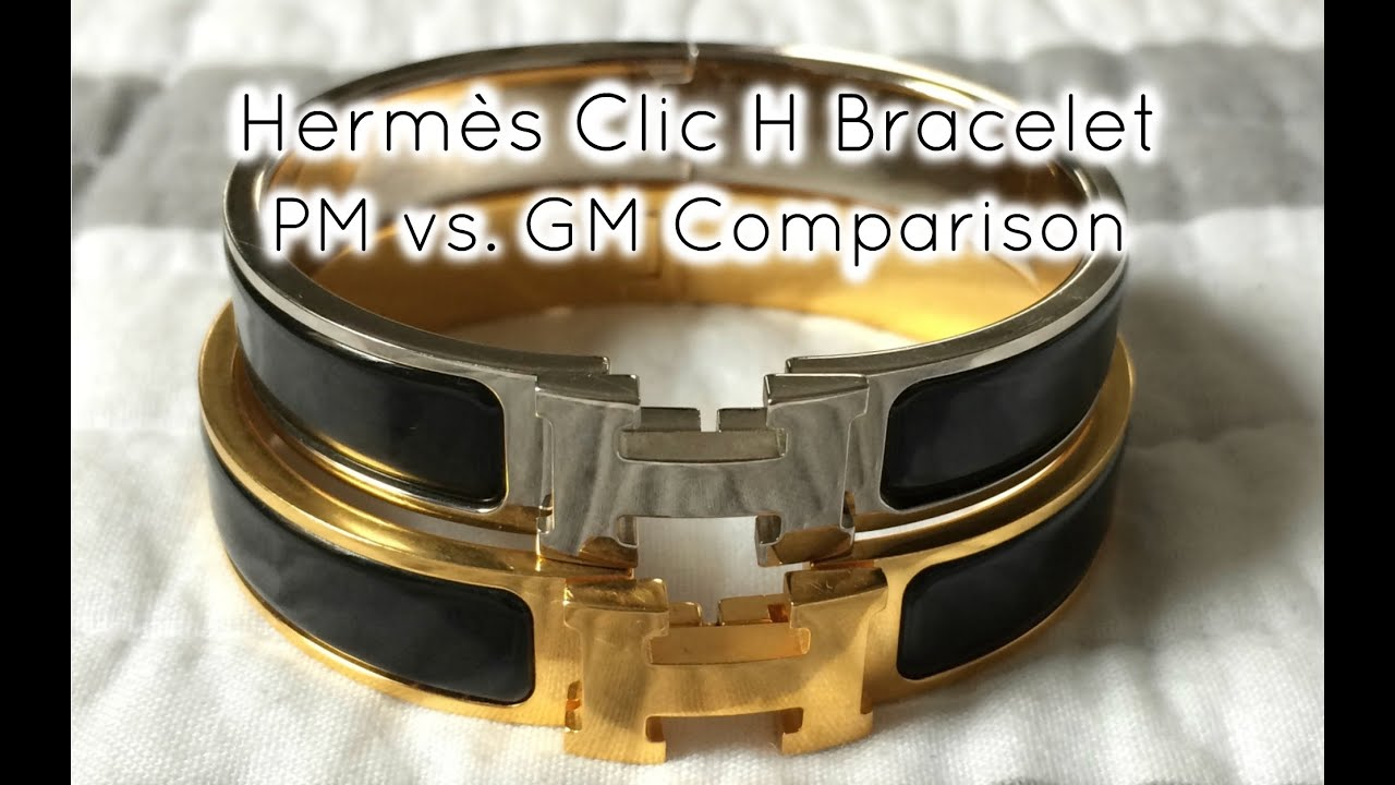 Hermès Clic H Bracelet Pm Vs Gm