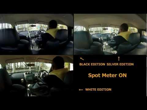 GoPro HERO3 TEST  ( BLACK / SILVER / WHITE )