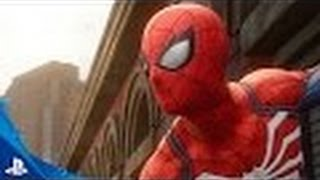 Spider-Man PS4 video game trailer reaction