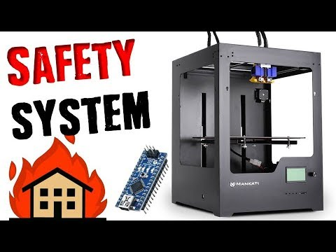 Diy 3d printer safety shutoff dont burn your house down - Where can i buy a 3d printed house ...