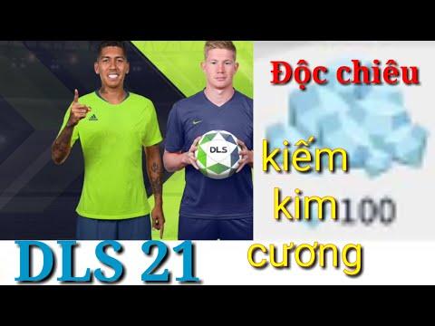 cách hack tiền game dream league soccer - DLS 2021   H.A.C.K Kim cương ?   Tuyệt chiêu kiếm kim cương
