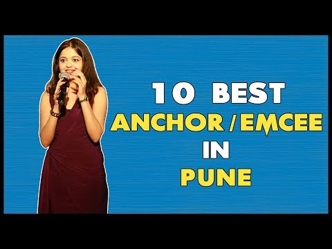 10 Best Anchor/Emcee In Pune For Weddings, Corporate Events & Private Parties