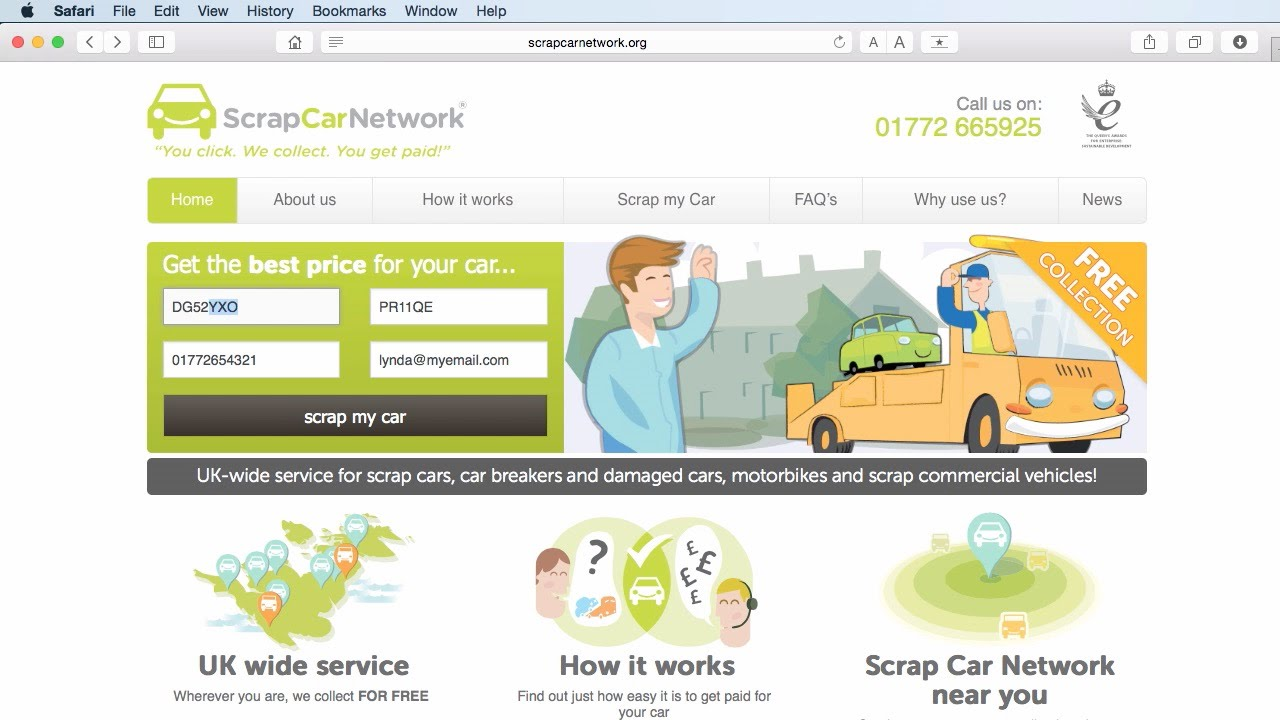 How to scrap car with no log book - Scrap Car Network You National Scrap Car Collection Service