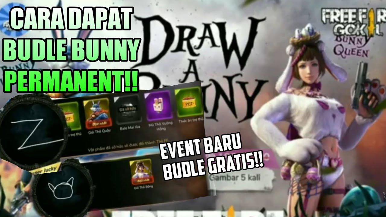Event Gambar Bunny Free Fire Cara Mendapatkan Budle Bunny Di Event Draw A Bunny Event Terbaru Free Fire Youtube