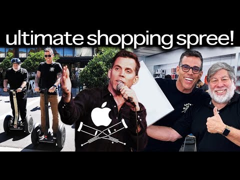 Going To The Apple Store With Steve Wozniak! | Steve-O