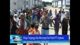 Ricuh, Warga Karawang Tutup Paksa Pabrik Obat Pertanian Di Cimahi Karawang