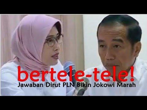 Bertele-tele, Jokowi Semprot Dirut PLN Lalu Pergi
