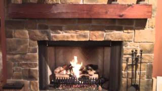 Rasmussen Gas Log Set Fireplace