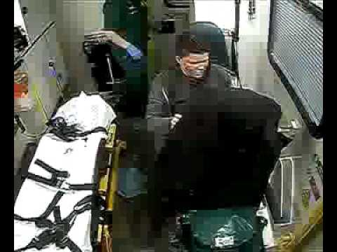 Ambulance vandal sent to prison