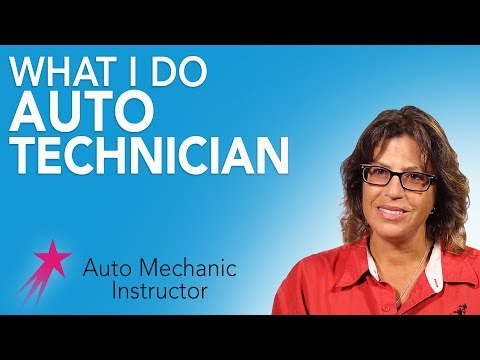 Auto Mechanic Instructor: What I Do - Dorothy Jean Anderson Career Girls Role Model