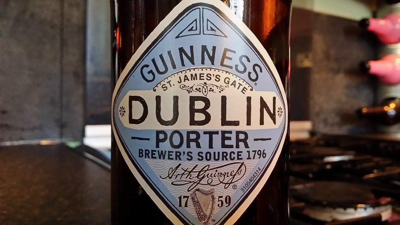 Лавина-эффект пива Irish Stout - YouTube