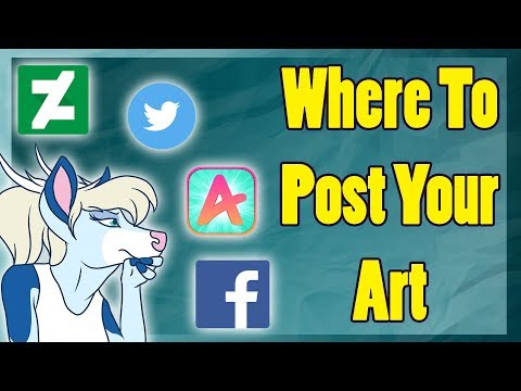 Where to Post Your Art Online [Art Block #23]