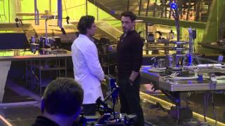 Avengers Age Of Ultron Behind The Scenes Footage